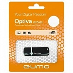 USB 2.0 QUMO 8GB Optiva 02 Black QM8GUD-OP2-black
