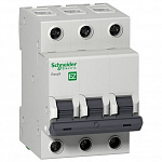 Schneider-electric EZ9F34306 АВТ. ВЫКЛ. EASY 9 3П 6А С 4,5кА 400В =S=
