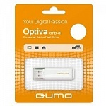 USB 2.0 QUMO 16GB Optiva 01 White QM16GUD-OP1-white