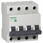 Schneider-electric EZ9F34410 АВТ. ВЫКЛ. EASY 9 4П 10А С 4,5кА 400В =S=